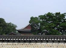 Extérieur de village de Bukchon Hanok à Séoul Photos stock