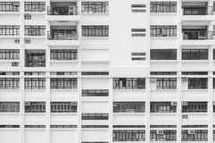 Extérieur du bâtiment résidentiel Image stock