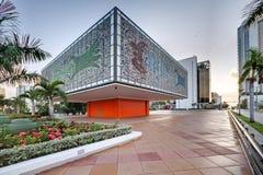 Extérieur du jeune bâtiment national de base d'arts images stock