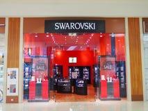 Extérieur du magasin de bijoux en cristal de Swarovski dans le mail d'Atlantic City image libre de droits