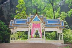Extérieur du pavillon dans Phraya Nakorn, Khao Sam Roi Yot, Thaïlande photo stock
