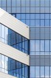 Extérieur en verre moderne de construction Photos stock