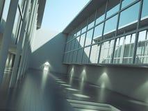 Extérieur moderne d'architecture illustration libre de droits