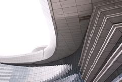 Extérieur moderne de construction photos libres de droits