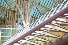 Extérieur moderne de construction Architecture moderne Photographie stock libre de droits