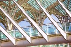 Extérieur moderne de construction Architecture moderne Image libre de droits
