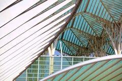 Extérieur moderne de construction Détail d'architecture moderne Photo stock