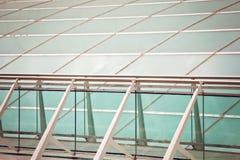 Extérieur moderne de construction Détail d'architecture moderne Image libre de droits