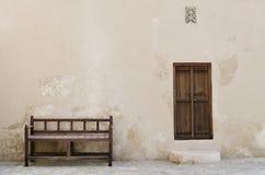 Extérieur traditionnel d'Arabe Images libres de droits