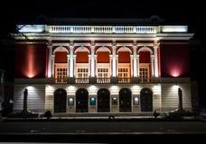 Extérieurs de bâtiments en Bulgarie Images stock