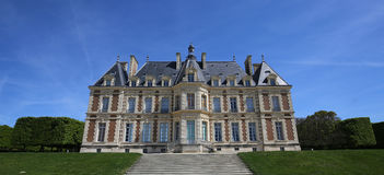 Extérieurs de château de Sceaux, Sceaux, France Images libres de droits
