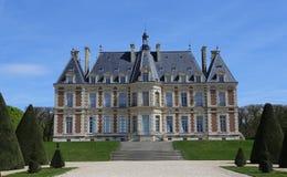 Extérieurs de château de Sceaux, Sceaux, France Image libre de droits