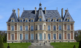 Extérieurs de château de Sceaux, Sceaux, France Photo libre de droits