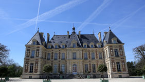 Extérieurs de château de Sceaux, Sceaux, France Images stock