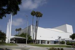 Extérieurs de Santa Monica Civic Auditorium Images stock
