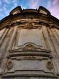 Extérieurs dramatiques, cathédrale de vora de ‰ de à Photo stock