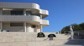 Extérieurs du centre de Getty, Los Angeles, la Californie Images libres de droits