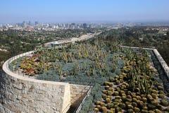 Extérieurs du centre de Getty, Los Angeles, la Californie Image stock