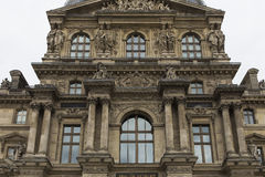 Extérieurs du musée de Louvre, Paris, France Photo stock