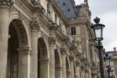 Extérieurs du musée de Louvre, Paris, France Photographie stock
