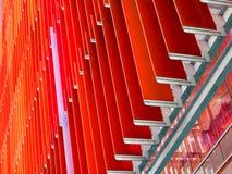 extérieurs intérieurs et extérieurs de feuille en plastique acrylique ont un orang-outan Image stock