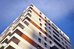 Extérieurs modernes d'immeubles Image libre de droits