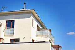 Extérieurs modernes d'immeubles Photo libre de droits
