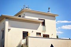 Extérieurs modernes d'immeubles Photo stock