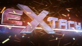 Extacy徽标 库存图片