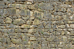 Extant ancient masonry Royalty Free Stock Image