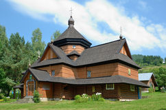 Extant Hutsul church Stock Photography