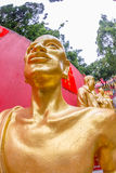 Extas av Buddhastatyn Royaltyfri Bild