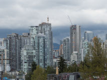 Extate luxuty di paesaggio urbano moderno di architettura Fotografia Stock