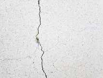 Extended crack Royalty Free Stock Photo