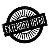 Extended offer stamp Royalty Free Stock Image