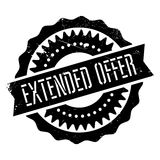 Extended offer stamp Stock Photography