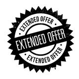 Extended offer stamp Stock Image