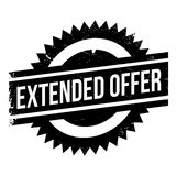 Extended offer stamp Stock Images