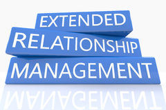 Extended Relationship Management Royalty Free Stock Photography