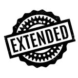 Extended rubber stamp Royalty Free Stock Images