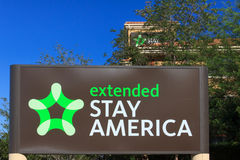 Extended Stay America motel Stock Images