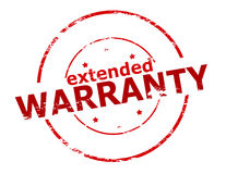 Extended warranty Royalty Free Stock Photo