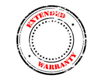 Extended warranty Royalty Free Stock Photography