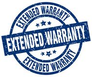 Extended warranty stamp Stock Photos