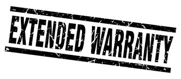 Extended warranty stamp Royalty Free Stock Photo