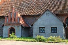 Extensão à igreja luterana em Neuhausen Imagens de Stock