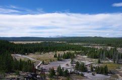 Extensão de Yellowstone Imagem de Stock