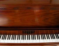 Extensão do teclado de piano Fotografia de Stock Royalty Free