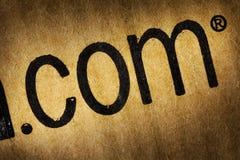 Extensão do Web site Foto de Stock