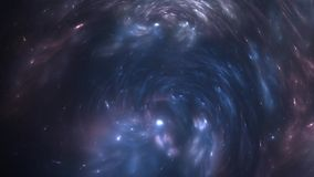 Extensión acelerada de la nebulosa después de la explosión de la supernova ilustración del vector
